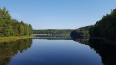 Domek nad jeziorem dostępny cały rok